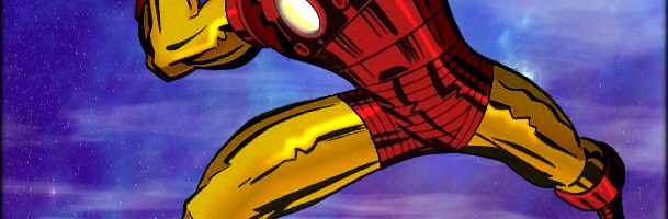 Iron Man – Color/Effect LocalHero Art: Kirby/Tim