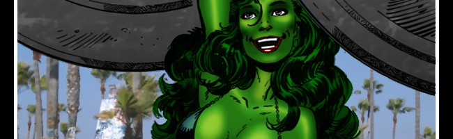 She-Hulk – Angel of Venice (Art: John Byrne)