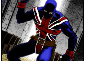 Union Jack (Colored) Art: John Cassaday