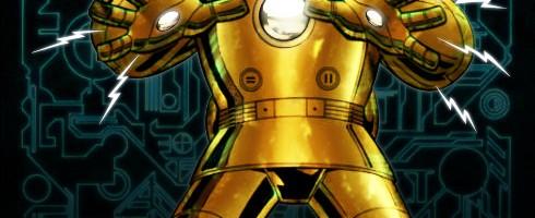 Iron Man Mk II Art:Craig Rousseau Color:LocalHero