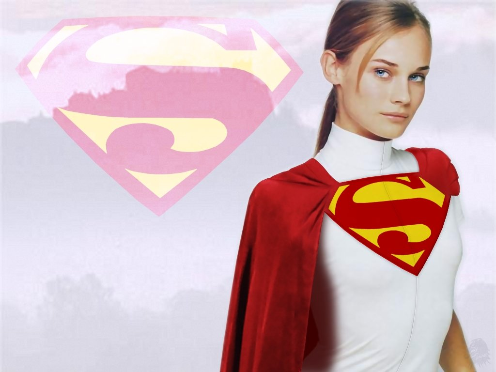 Share this  sc 1 th 194 & Supergirl Concept Wallpaper | Artgasm