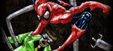 Kevin Newburn's Ock Vs Spidey (Colored)