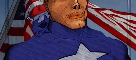 Steve Rogers Captain America (Kodiak) Coloured