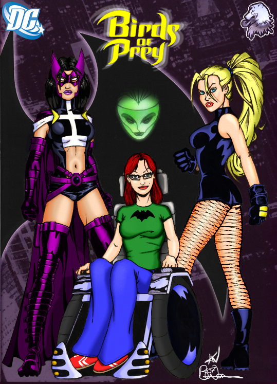 Birds of Prey Color: Local Hero Art: Kevin Newburn