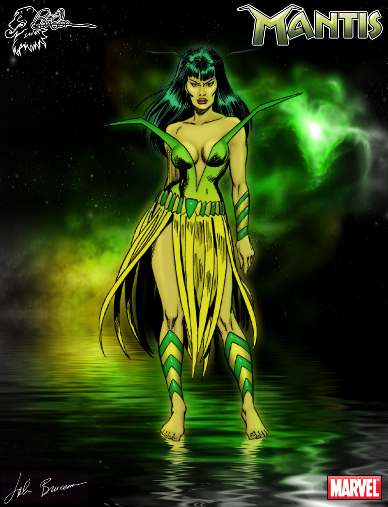 Mantis (Art: John Buscema) Color