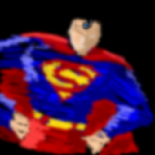 Superman Quick Color Sketch