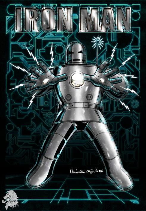 Iron Man Mk I Art:Craig Rousseau Color:LocalHero