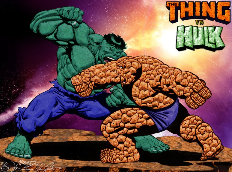 Battle for Beyond: Hulk Vs Thing