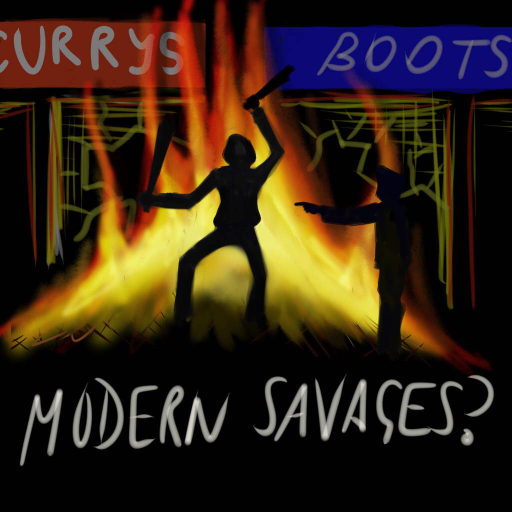 Sketch: Modern Savages?