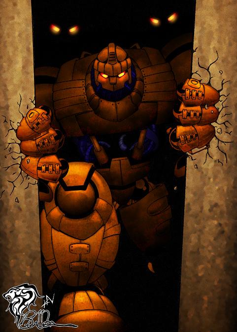Rise of the Sentinels (Artwork: Kevin Newburn) Colored