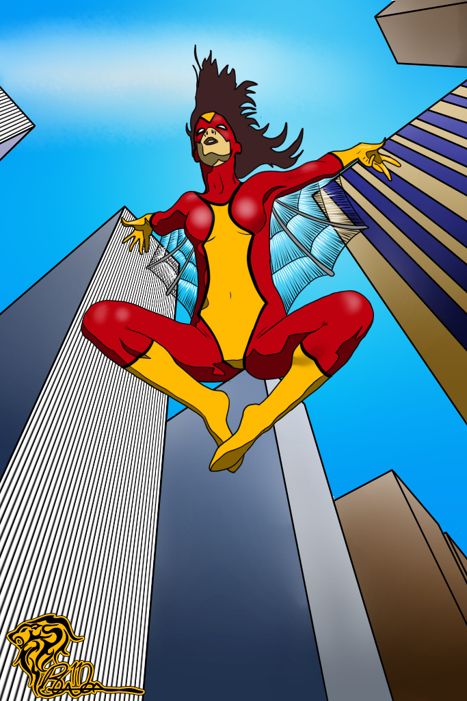 Spider-Woman – Flying High