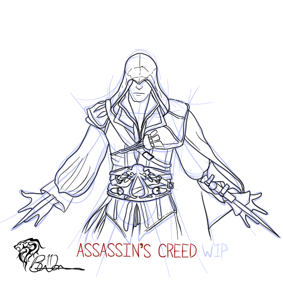 Assassins Creed Odyssey Coloring Pages - Coloring Our World | 580x580