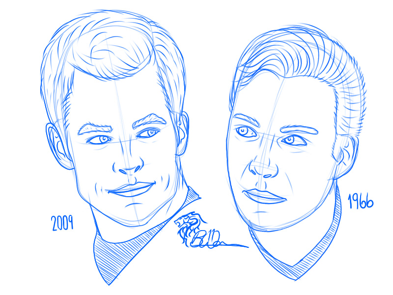 DSC Lovember 14 James T Kirk Vs James T Kirk
